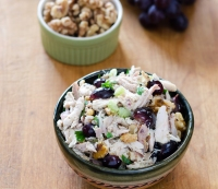 31. Recipe: Chicken Salad with Grapes and Walnuts