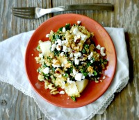 How to Make Quinoa, Kale and Pear Salad