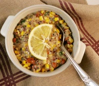 Quinoa Corn Bean Chowder