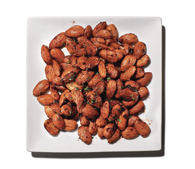 Healthy Snack Recipe: Smoked Almonds