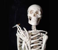 7) Smoking takes 10 years off your life