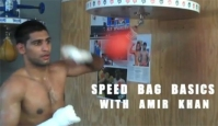 Learn the Speed Bag in Two Minutes With Amir Khan