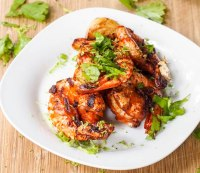 Spicy paprika lime garlic shrimp