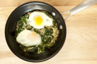3. Spinach and Eggs