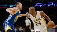 From Kobe to Curry: As Bryant Celebrates His Legacy, Steph Forges a New One