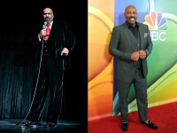 Steve Harvey Side-by-Side fat and Thin