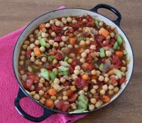 9. Chickpea Stew