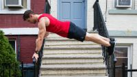 'Hey Arnold' Stoop Kid Workout Plank