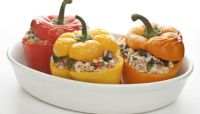An Easy Recipe With Ground Beef: Stuffed Peppers