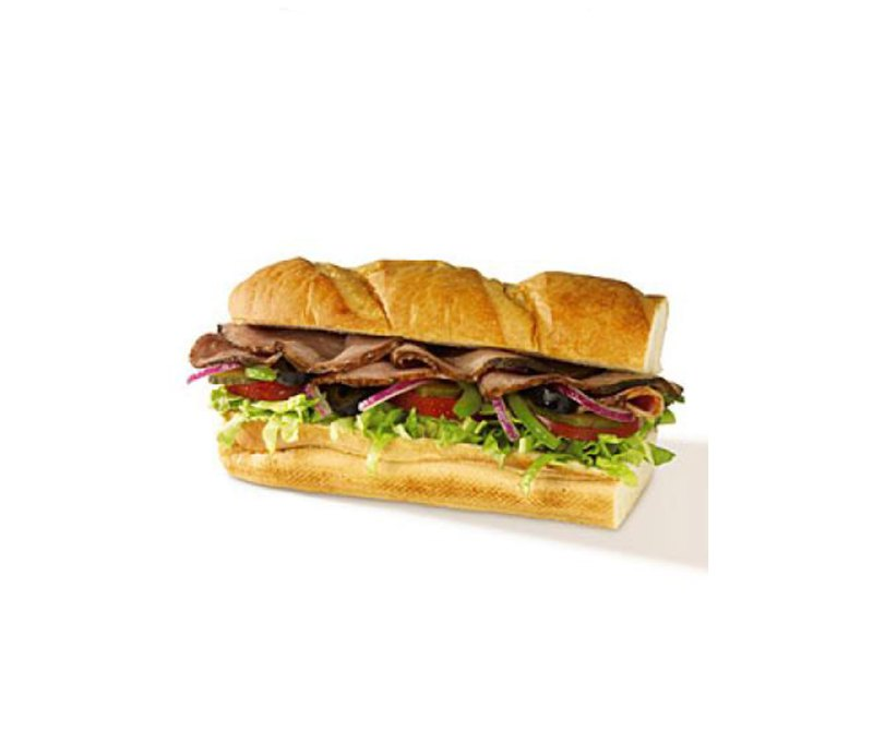 subway s 6 roast beef sandwich and crunchy apple snapz