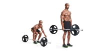 Bore down on your core with the suitcase deadlift