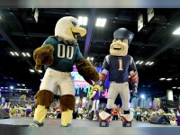 Super Bowl LII Mascots