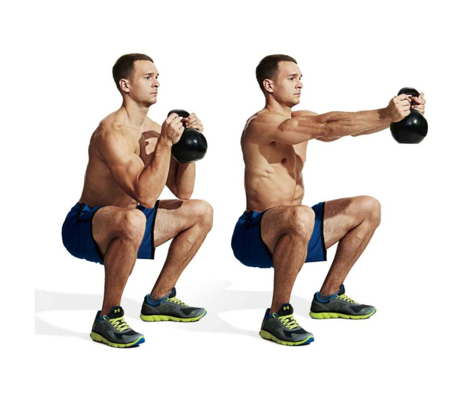 MOVE FIVE: Kettlebell Press-Out