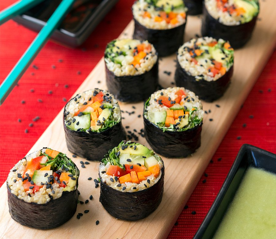 1. Sexy superfood sushi rolls