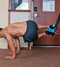 Hotel Room Core Workout