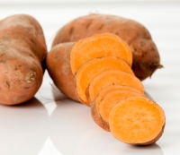 8. Sweet potatoes