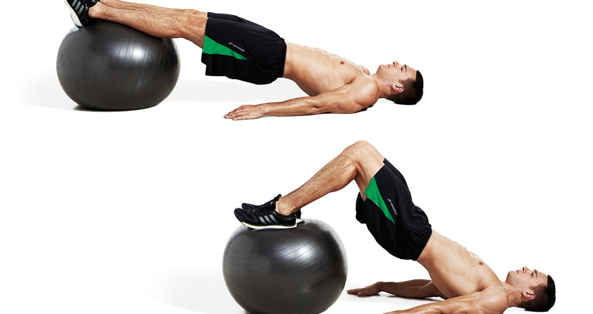 The Swiss-Ball Workout for Strong Glutes and Powerful Legs