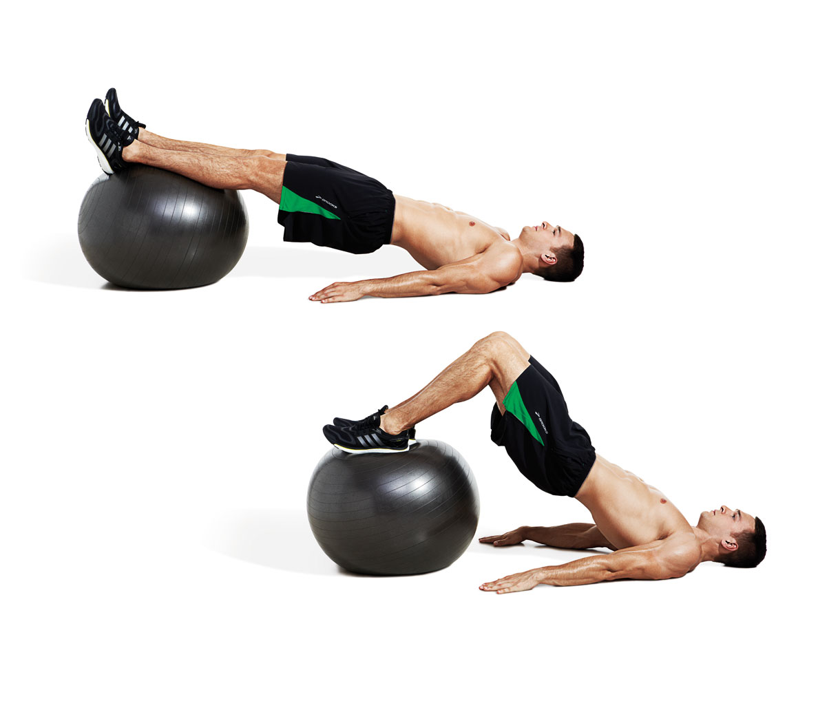 Stability Ball Instead Of Bench: How To Deadlift 400 Pounds