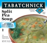 6. Tabatchnicks Low Sodium Split Pea Soup