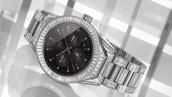 TAG Heuer Connected Modular 45 Full Diamond