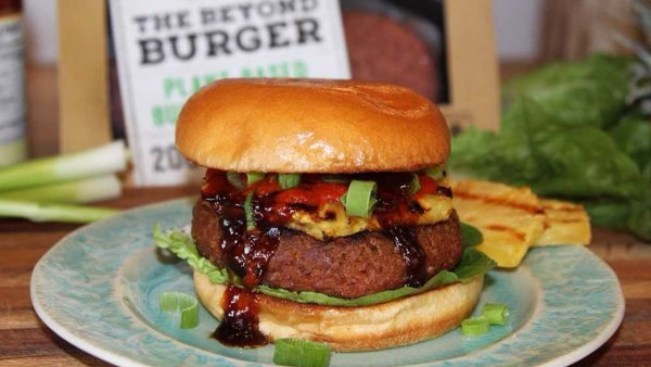 Recipe: Tia Blanco's Hawaiian Vegan Burger