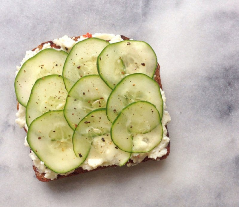 10 easy muscle building recipes anyone can make refreshing cucumber tartine forumfinder Image collections