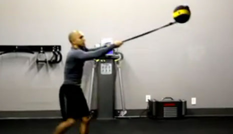 Tether Ball Core Circuit [VIDEO]