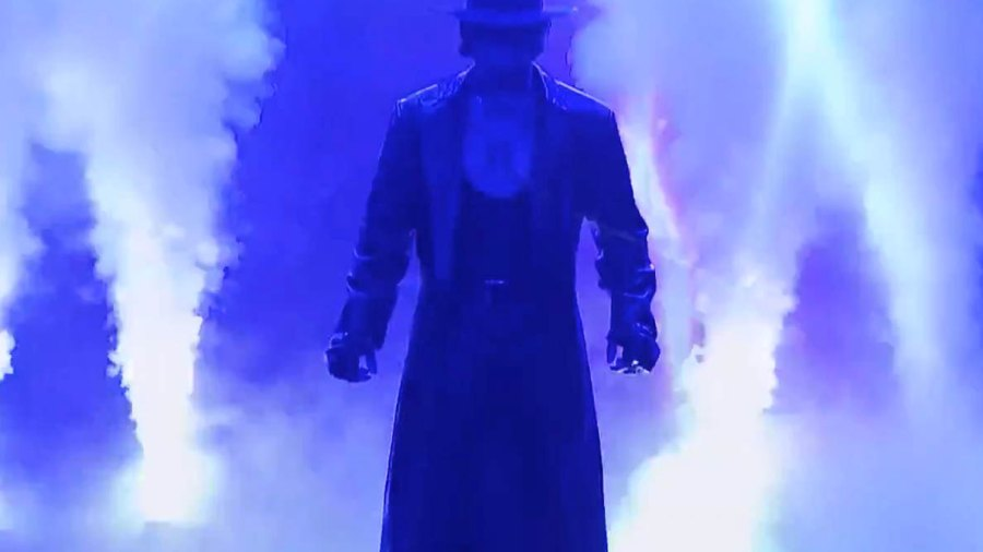 """The Undertaker makes an appearance on """"The Tonight Show Starring Jimmy Fallon."""""""