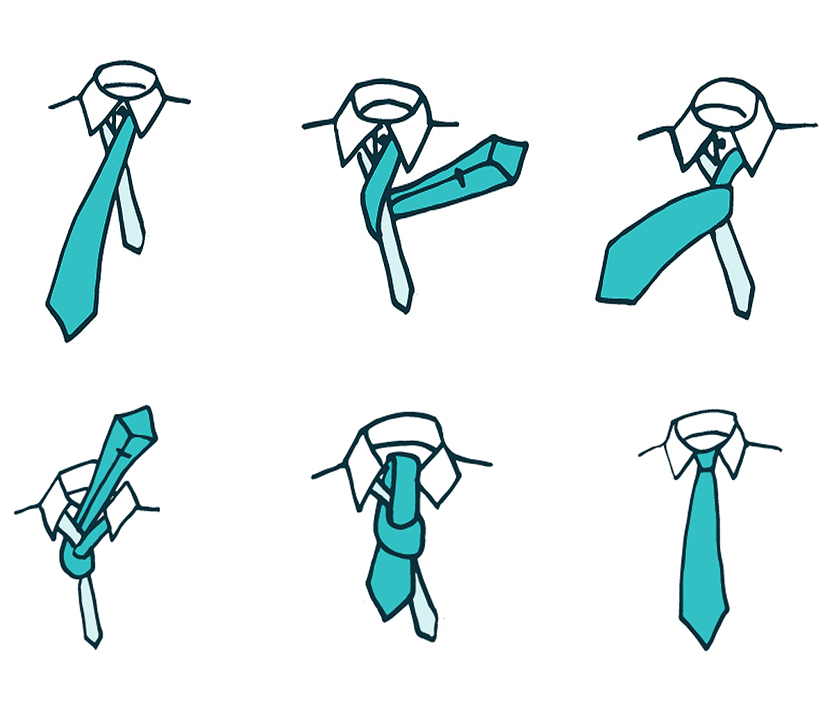 How to tie a tie 41