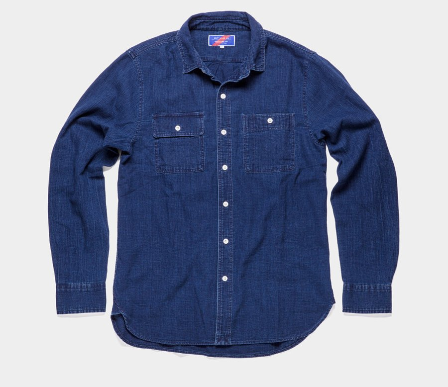 The Indigo Workshirt by Best Made Company