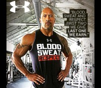 The Rock Shirts Under Armour / Instagram @therock