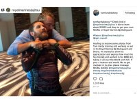 Tom Hardy training for 'Venom' movie