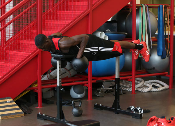 Tony Snell, NBA player, training and working out