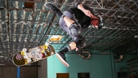 Tony Hawk joins Dan and Gav to film a rare skate trick