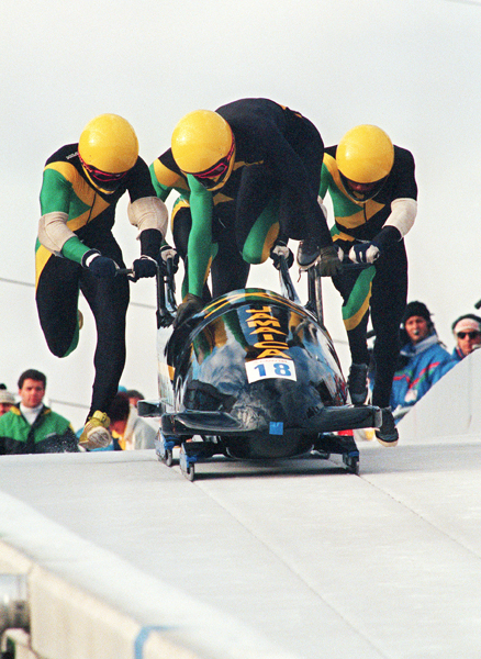 4. 1988: Jamaican bobsled team debut