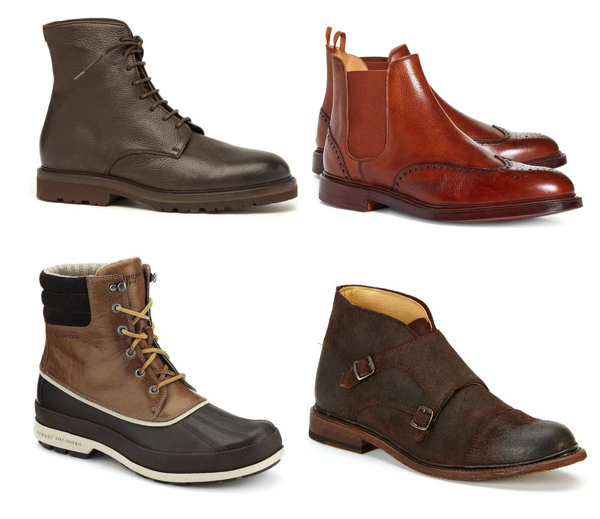 Winter stylish boots for guys