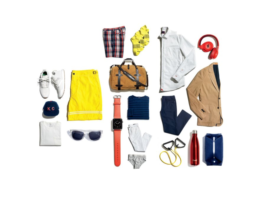 17 style essentials every man needs for a long weekend trip