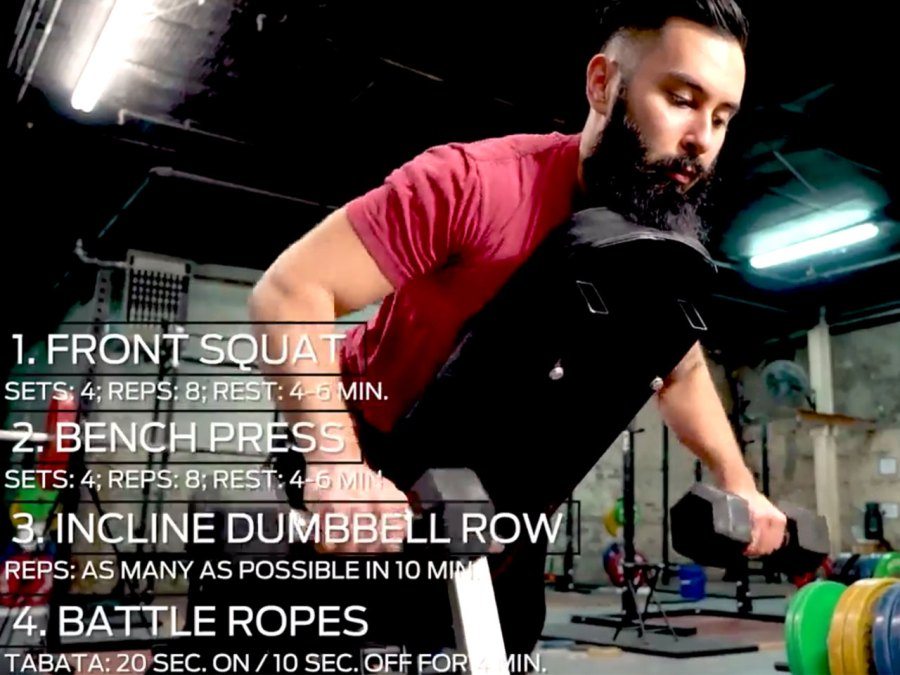 The Classic Iron Workout Program: Day 6