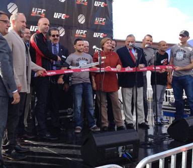 New UFC Gym Opens in New York
