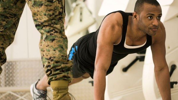 Interval  boot camp workout
