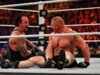 Undertaker vs Brock Lesnar