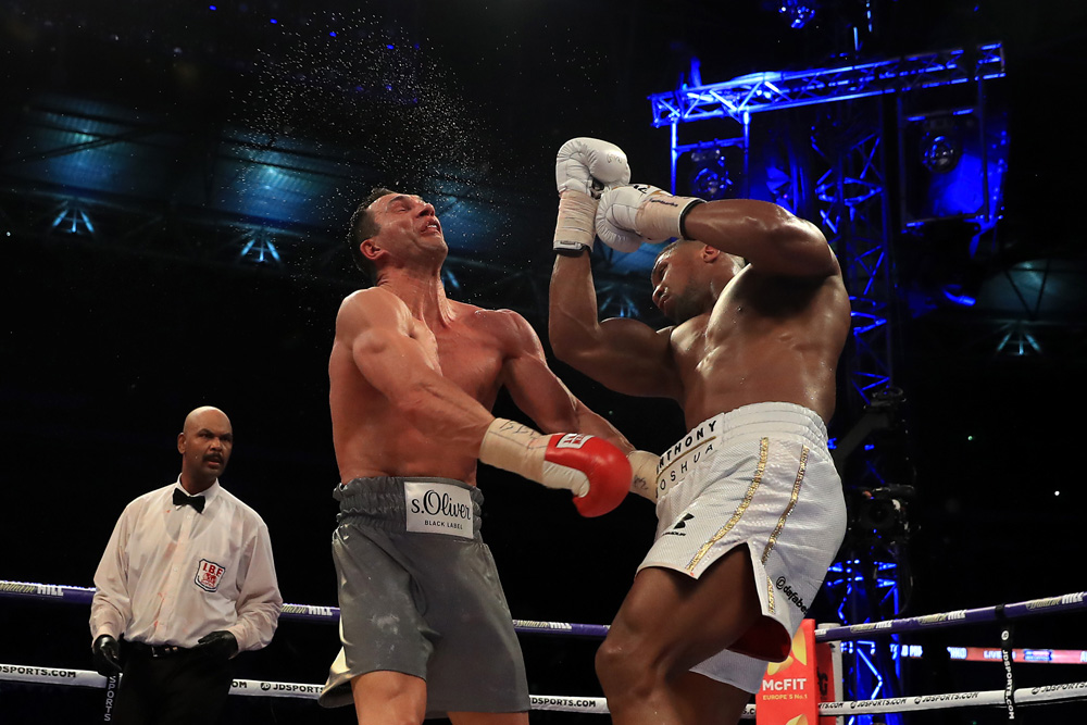 Anthony Joshua vs Wladimir Klitschko heavyweight boxing match