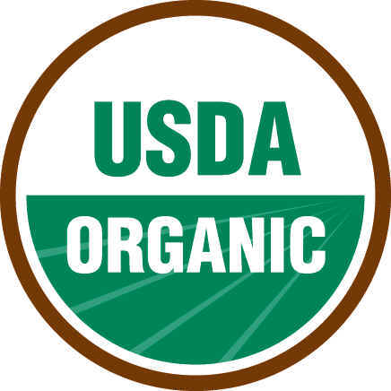 The official USDA Certified Organic seal.