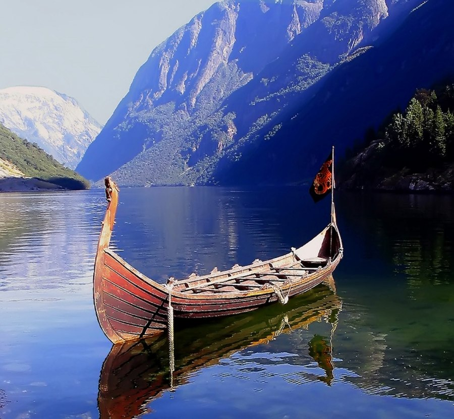 5. Row a Viking Ship in Norway