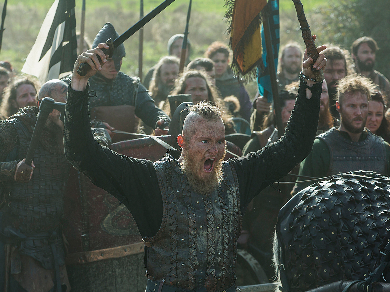 How the 'Vikings' Actors Get Battle-Ready, According to the Show Stunt Coordinator