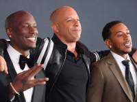 Vin Diesel Tyrese Gibson Ludacris Fate and Furious