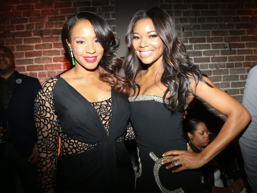 Gabrielle Union and Savannah Brinson James