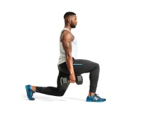 2. Walking Lunges