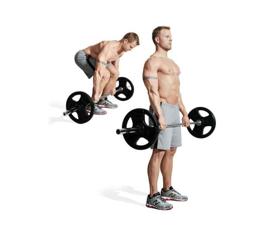MOVE 3: Barbell Deadlift