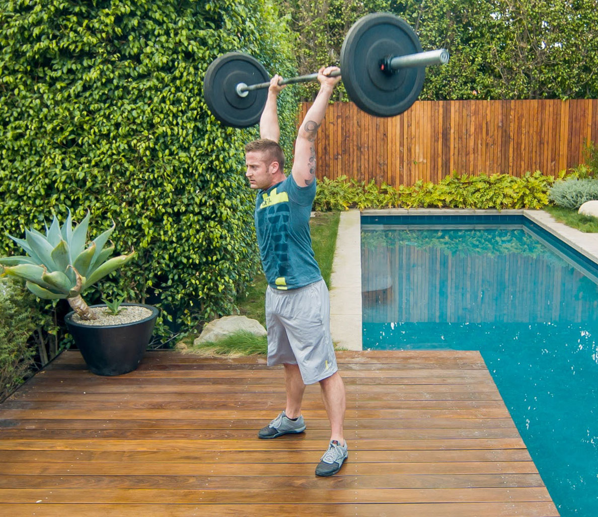 Weekend One-Up: Thrusters, Kettlebell Swings, and Situps